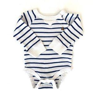 3/$25 GAP Baby Boy Striped Thermal Onesie